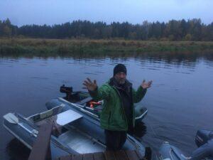 Октябрьская рыбалка 2020
